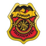 firefighter badge coloring page - fire prevention week promotional items fire education