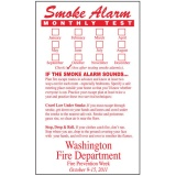 Smoke Alarm Flexible Info Magnets (Custom)