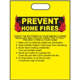 """Prevent Home Fires"" 11""x15"" Take Home Bags (Stock)"
