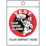 """Test Your Smoke Alarms"" Litter Bags (Custom)"