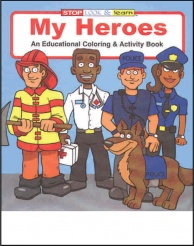 """My Heroes"" Coloring Books (Stock)"