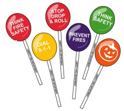 Safety Stick Lollipops (Custom)