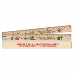 "12"" Color Me Wood Rulers (Custom)"