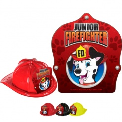 DELUXE Fire Hats - Dalmation Design (Stock)