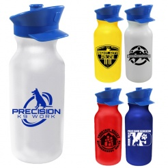 Bike Water Bottle 20 oz - Police Hat (Custom)