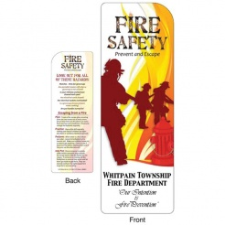 """Fire Safety Prevent and Escape"" Bookmarks (Custom)"