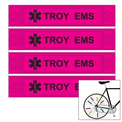 Bike Reflectors - Bicycle Safety (Custom)