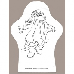 Hand Puppets Color-Me (Stock)