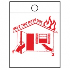 """Have Two Ways Out"" Litter Bags (Stock)"