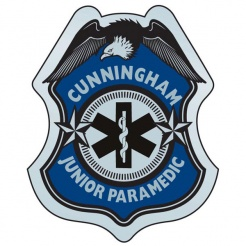 Stick-On Junior Paramedic Badges (Custom)