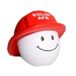 Happy Firefighter Stress Relievers (Custom)