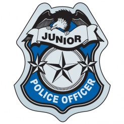 Stick-On Junior Police Officer Badges (Stock)