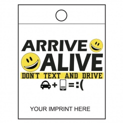 """Don't Text and Drive"" Litter Bags (Custom)"