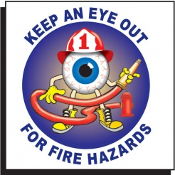Fire Hazards Tattoo (Stock)