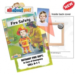 """Fire Safety and Me"" Adventure Books (Custom)"