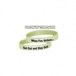 Awareness Bracelets - Glow In The Dark (Stock)