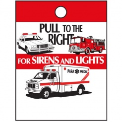 """Pull To The Right"" Litter Bags (Stock)"