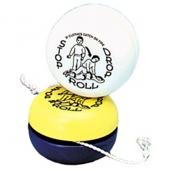Stop-Drop-Roll Glow In The Dark Yo-Yos (Stock)