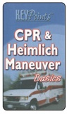 "Pocket Guide ""CPR & Heimlich Maneuver"" Key Points (Custom)"