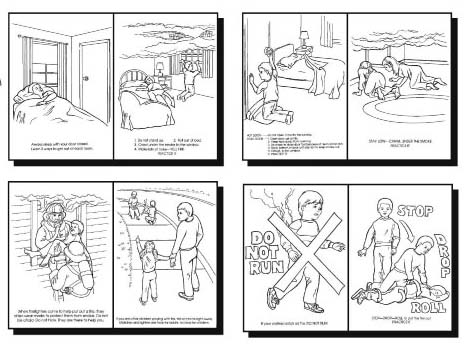 Emejing Fire Safety Coloring Book Images - Style and Ideas ...